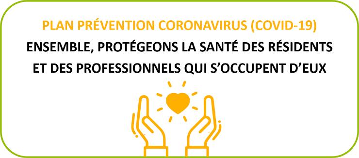 Plan Prévention Coronavirus