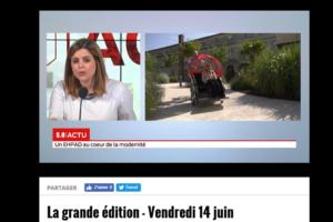 TV7 : « Un EHPAD au cœur de la modernité »