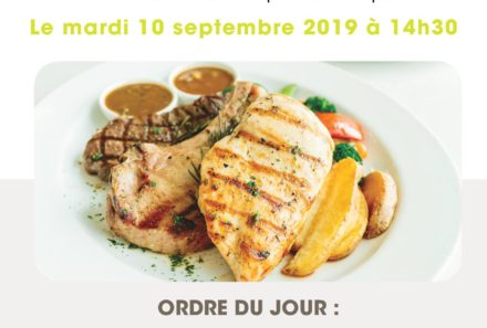 Commission de Restauration  du 10 septembre 2019