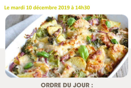 Commission de Restauration du 10 décembre 2019